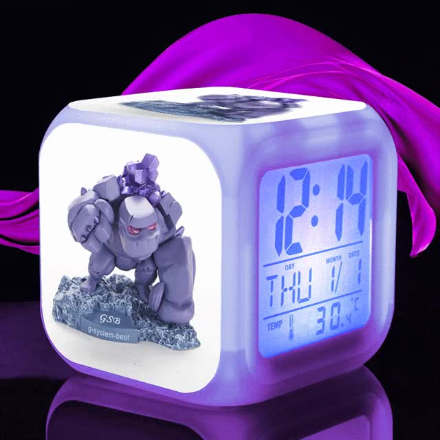 Watch and share COC Anime Font Action Font Font Figure Font Alarm Clock Kids Font GIFs on Gfycat