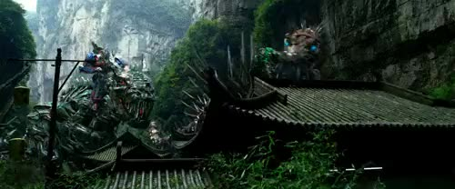 Watch and share Dinobots Assembling [Age Of Extinction] (reddit) GIFs on Gfycat
