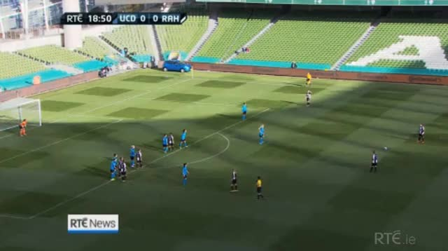 Watch and share Katie McCabe's Unbelievable Freekick In Womens FAI Cup (reddit) GIFs by garyreilly on Gfycat
