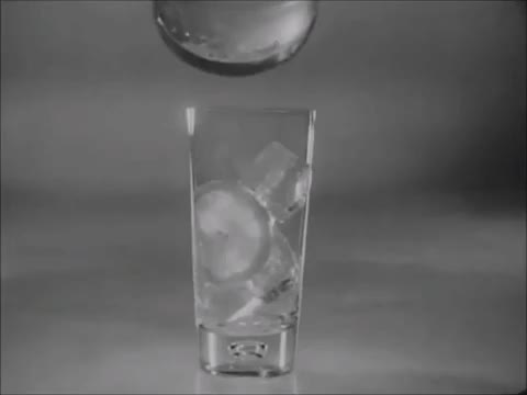 Watch Iced Beverages: Via Yuban Instant Coffee (1950s) Marc Rodriguez GIF by Marc Rodriguez (@marcrodriguez) on Gfycat. Discover more 1950s, ad, beverage, black and white, commercial, drinks, glass, ice, iced coffee, iced tea, juice, marc rodriguez, pour, shake, vintage, yuban coffee GIFs on Gfycat