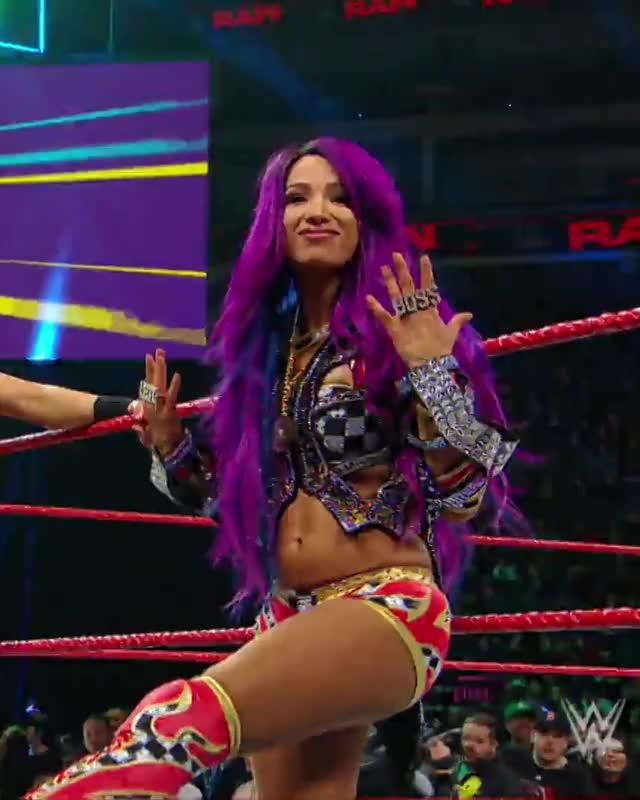 Beautiful, Hot, Pro Wrestling, Raw, Sasha Banks, Sexy, WWE, Wrestling, Sasha Banks GIFs