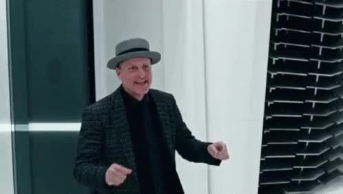 Watch and share Woody Harrelson Side Step GIFs on Gfycat