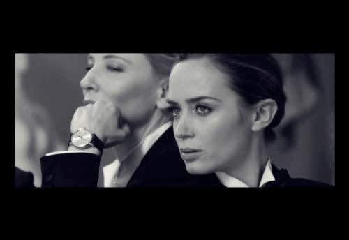 cate blanchett, celebs, emily blunt, Cate Blanchett Emily Blunt GIFs