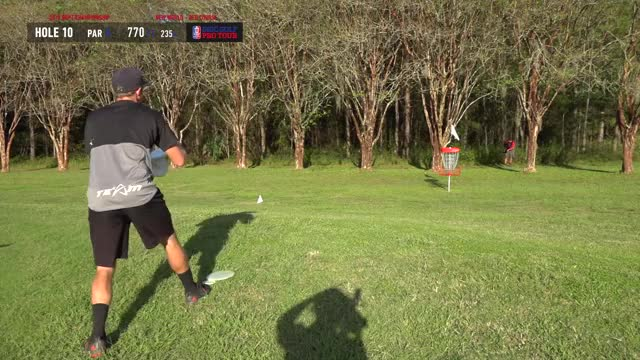 Watch MPO Finals 2018 DGPT Championship - B9 | Wysocki Sexton Jones Locastro Dickerson GIF by @adamdavenport on Gfycat. Discover more Sports, dgpt, disc golf, disc golf pro tour GIFs on Gfycat