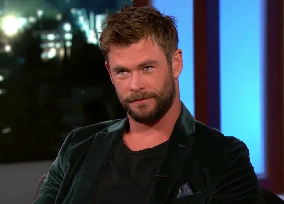 agree, amazing, awesome, chris, chris hemsworth, cute, fantastic, gorgeous, great, hemsworth, hunk, ideal, interview, ok, okey, perfect, priceless, satisfied, sure, Chris Hemsworth - OK GIFs