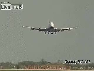 Watch and share British Airways 747 Landing In Heavy Crosswinds (reddit) GIFs on Gfycat