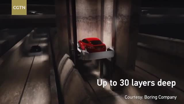 Watch Elon Musk proposes underground tunnels to solve traffic problem GIF on Gfycat. Discover more Breaking, Car, cctvnews, cgtn, chinanews, elevator, network, news, politics, vehicle, worldnews GIFs on Gfycat