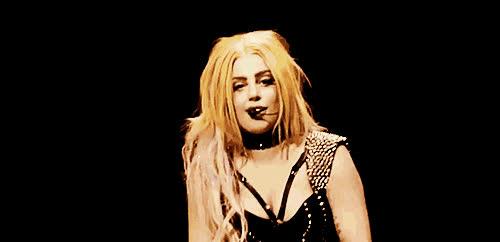 Lady Gaga, hair flip, hairflip, sassy, hair flip GIFs