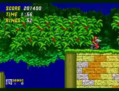 Watch and share Sonic The Hedgehog 2 - Aquatic Ruin Zone GIFs on Gfycat