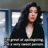Watch apology GIF on Gfycat. Discover more related GIFs on Gfycat