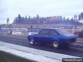 Watch and share Ford Escort Mkii Fast Drag GIFs on Gfycat