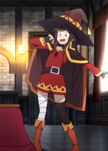 Watch and share Megumin GIFs by iSaith on Gfycat