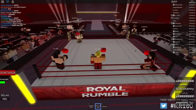 Watch and share [RCW Royal Rumble 100] The Royal Rumble GIFs on Gfycat
