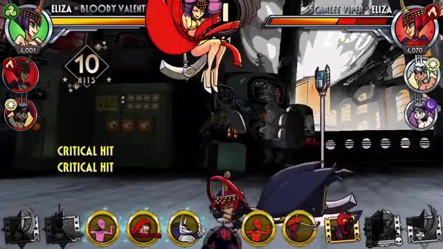 Watch and share Skullgirls GIFs and Gaming GIFs by moisterrific on Gfycat