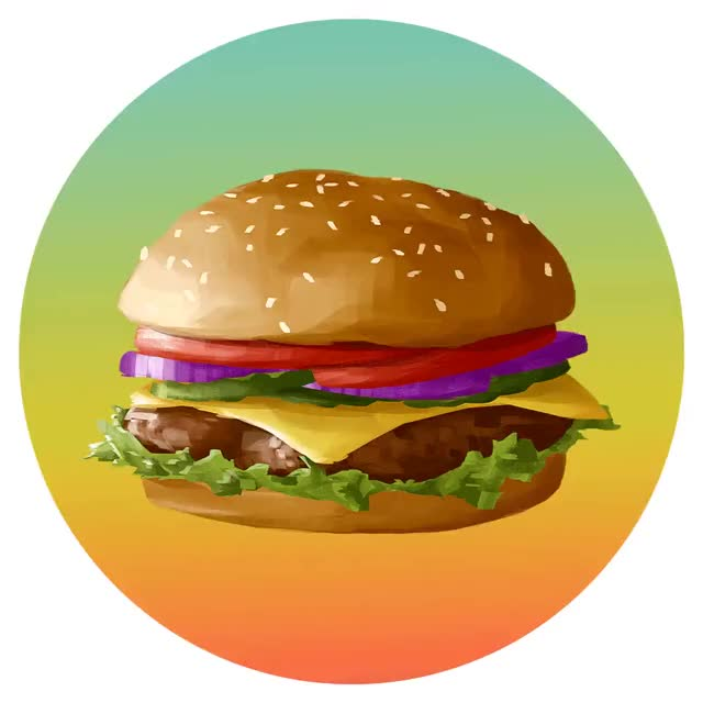 Watch and share Cheese Burger GIFs and Food GIFs on Gfycat