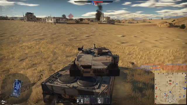 Watch and share Leopard 2a5 GIFs and War Thunder GIFs by tobiderfisch on Gfycat