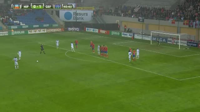 Watch Stunning free-kick by Johan Oremo for Gefle in Swedish Allsvenskan (reddit) GIF by @januzaj7 on Gfycat. Discover more soccer, soccergifs GIFs on Gfycat