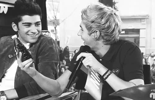 Watch and share Ziall Fanfiction GIFs and Black And White GIFs on Gfycat