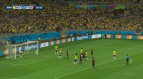 Watch and share World Cup Muller Goal Nocrop GIFs on Gfycat