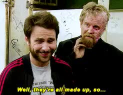 Watch and share Always Sunny Gif GIFs and Rickety Cricket GIFs on Gfycat