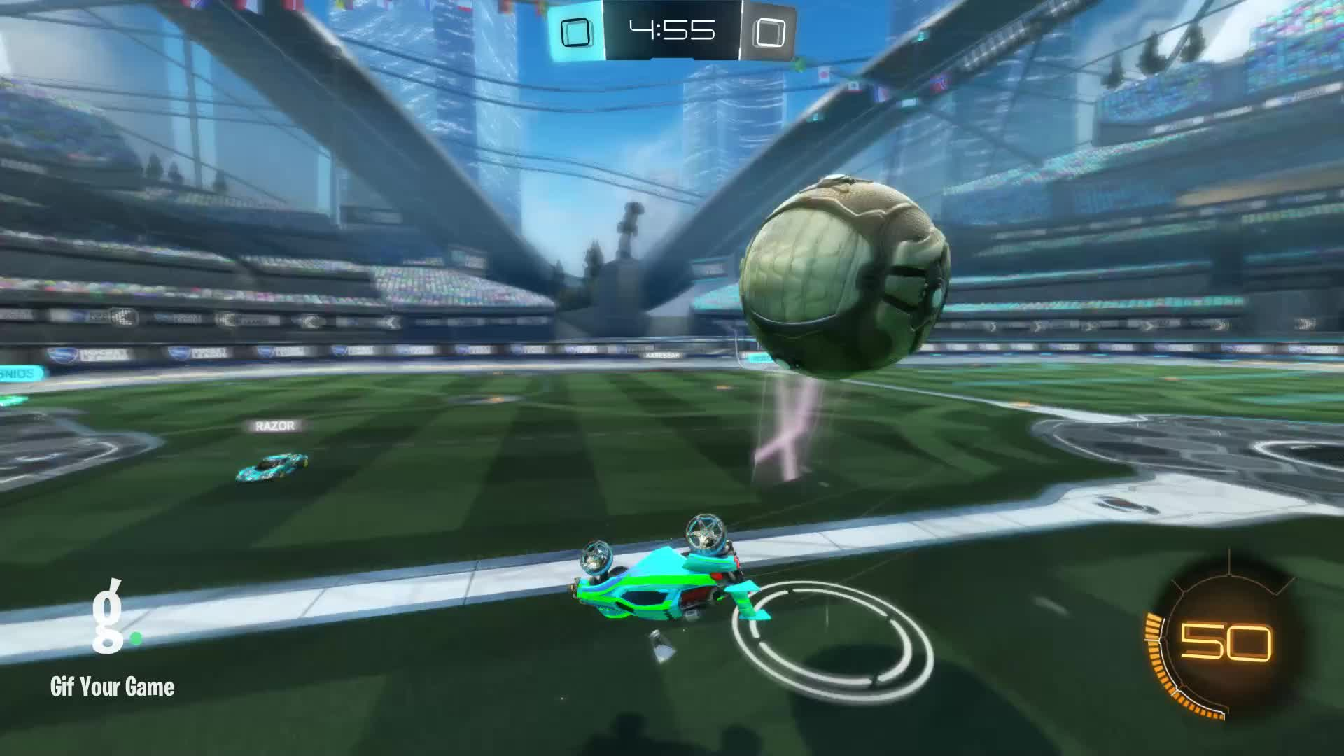 Gif Your Game, GifYourGame, Goal, Rocket League, RocketLeague, justintime151, Goal 1: justintime151 GIFs