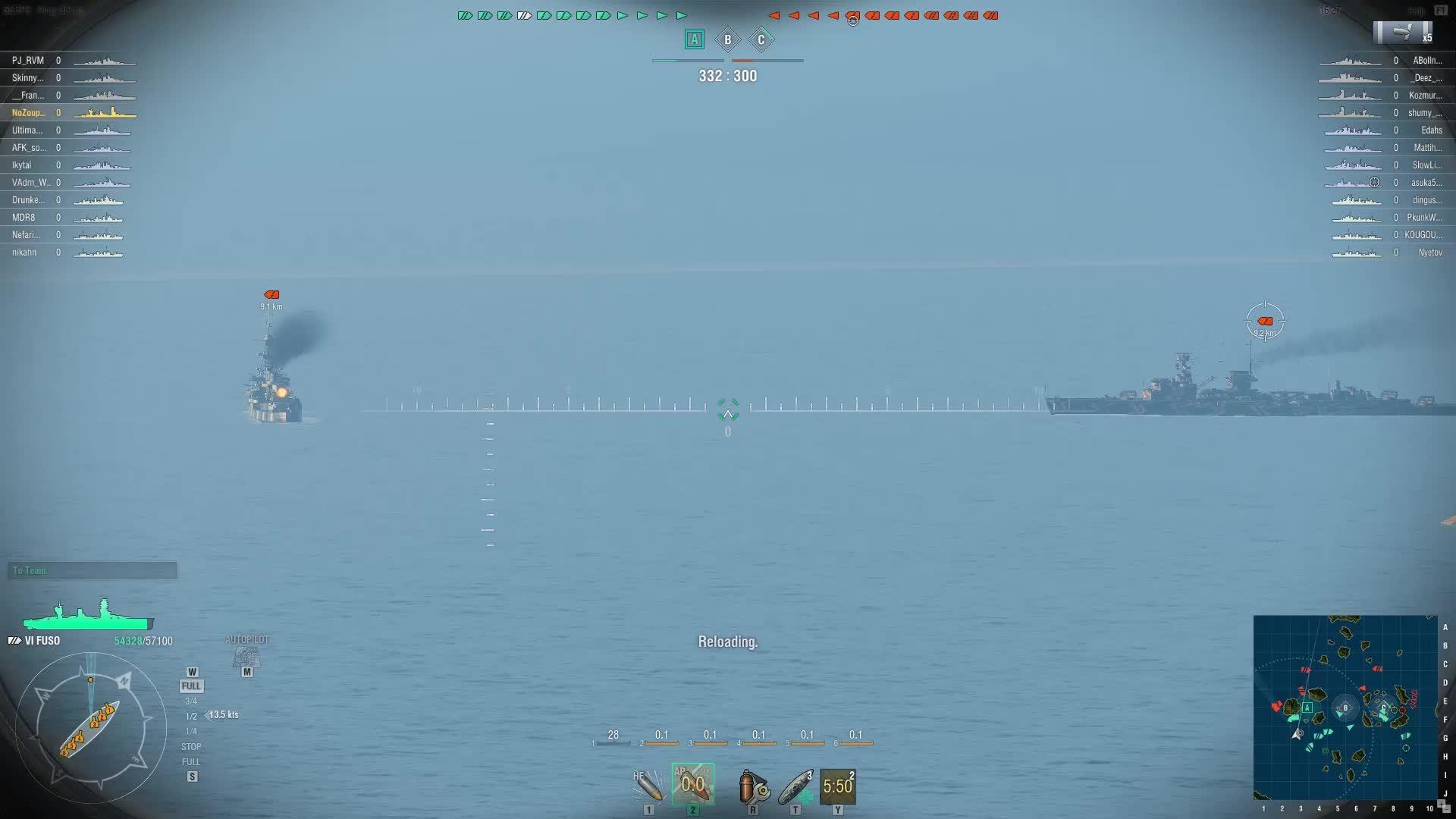 Battleships, Fuso, worldofwarships, That One Shot Fuso Feeling GIFs