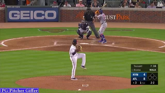 Watch and share Touki Toussaint GIFs and New York Mets GIFs by Pitcher Giffer on Gfycat