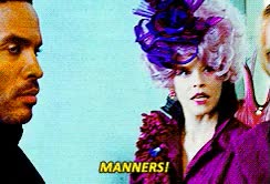 Watch and share The Hunger Games THG Elizabeth Banks Effie Trinket Gif 6 Creys Ily GIFs on Gfycat