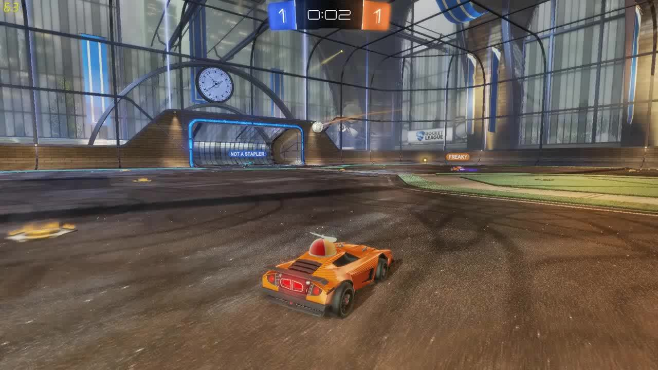 RocketLeague, gaming, hatfilms, The closest no goal ever (reddit) GIFs