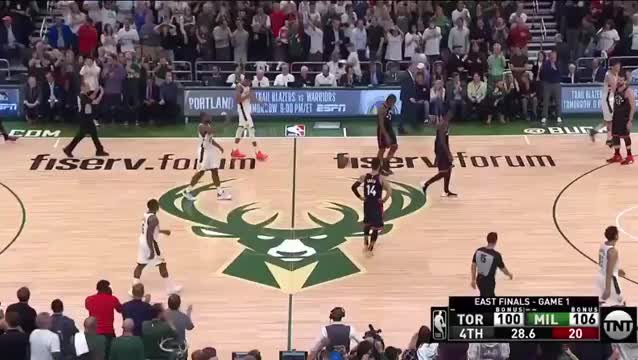 Brook Lopez is hyped for the Bucks win