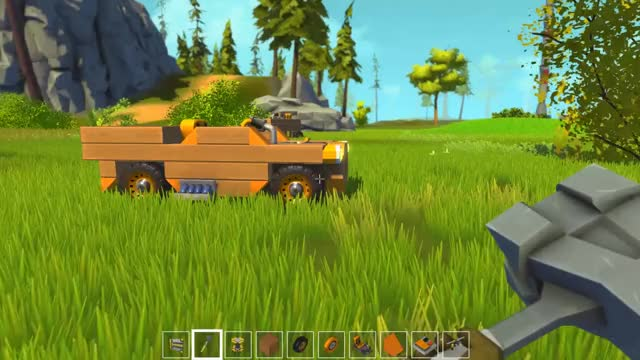 Watch and share Scrap Mechanic Convertible GIFs by mrgarretto on Gfycat