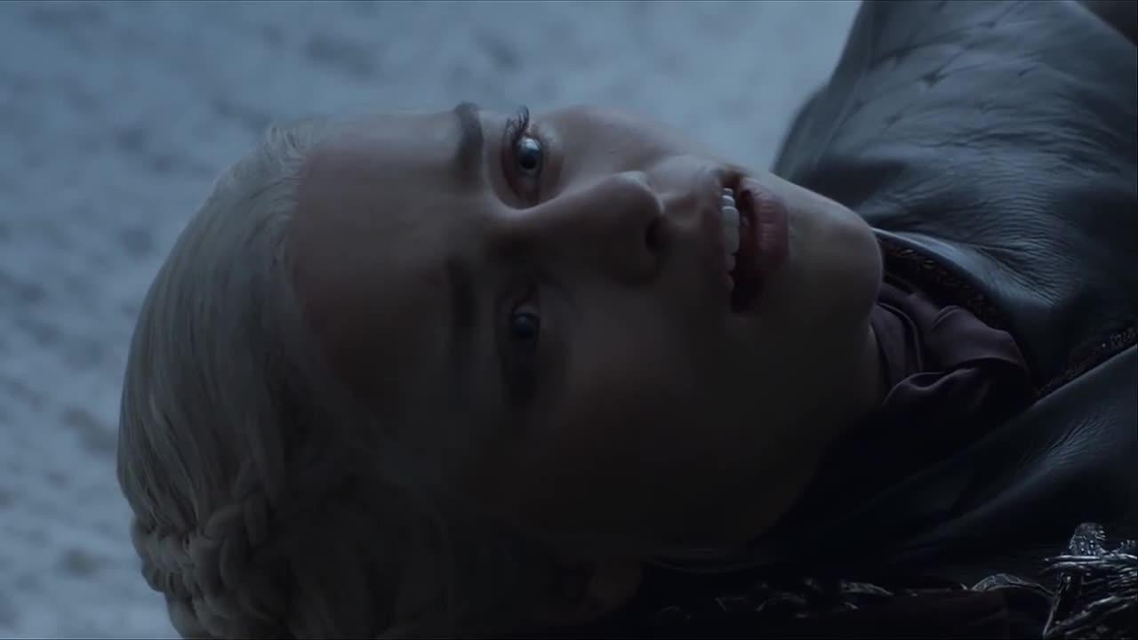 daenerys targaryen, dead, emilia clarke, game of thrones, jon snow, season 8, Game of Thrones Jon Snow Kills Daenerys Targaryen GIFs