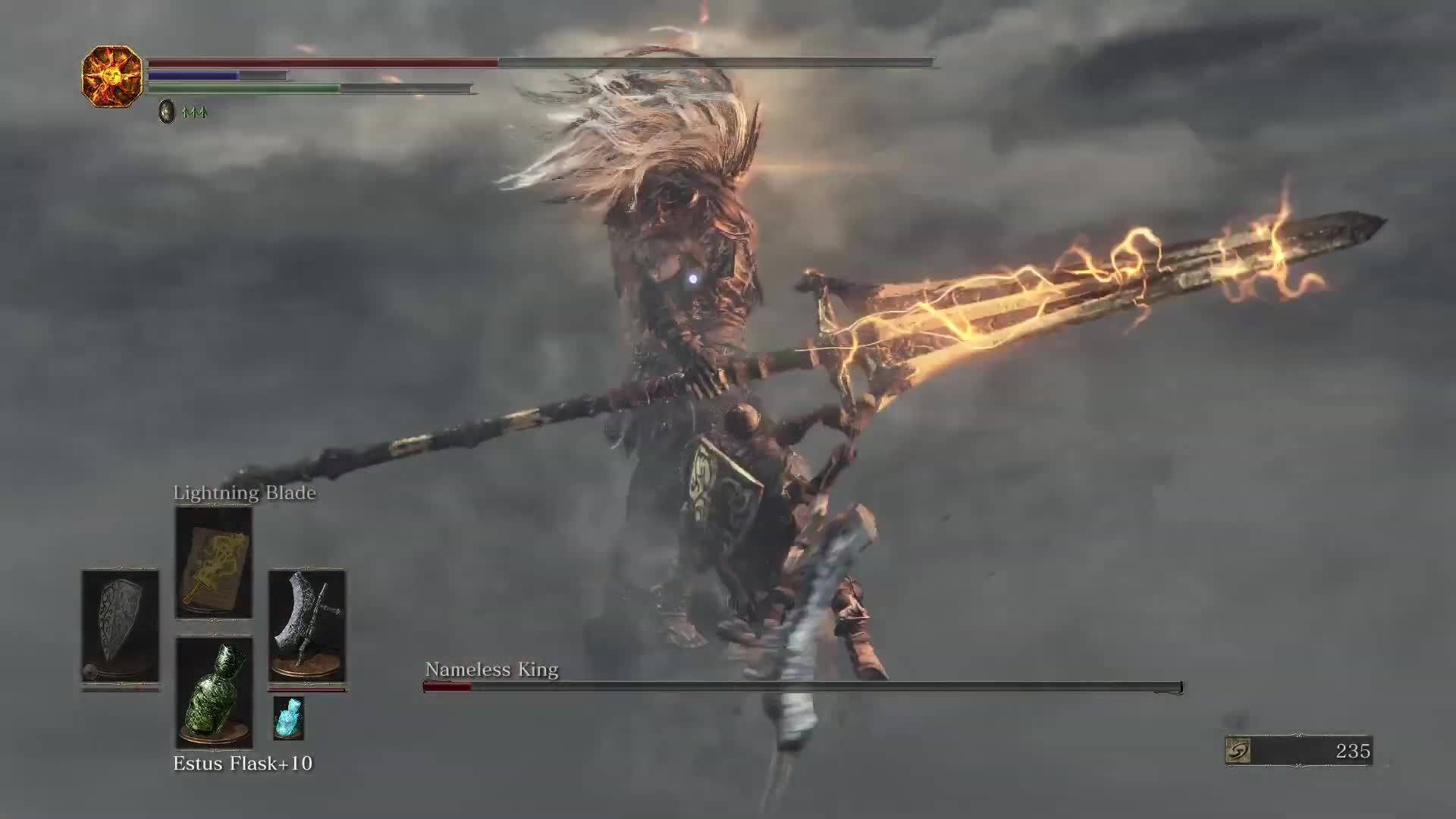 Dark Souls Iii Nameless King Finish Ng Gif By Kaneda18 Gfycat