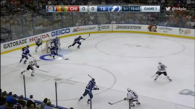 Watch Killorn Crazy Tip Goal - CBC GIF by @haplo on Gfycat. Discover more related GIFs on Gfycat