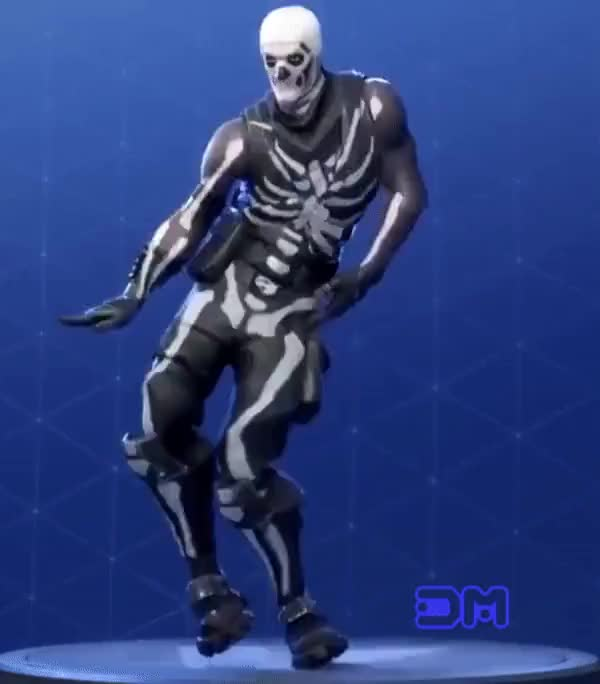 Watch and share Dancing Skull Trooper GIFs on Gfycat