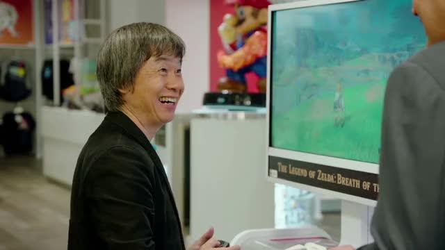 Watch Nintendo Switch Presentation 2017 GIF on Gfycat. Discover more Shigeru Miyamoto, nintendo, play, play nintendo GIFs on Gfycat