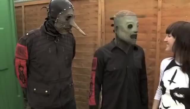 Watch and share Interview GIFs and Slipknot GIFs on Gfycat