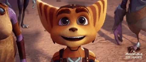 animation, catreactiongifs, movies, Ratchet & Clank Trailer GIFs
