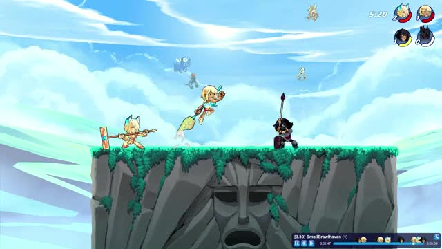 Watch and share Brawlhalla GIFs and Yumiko GIFs by OxKing8080 on Gfycat
