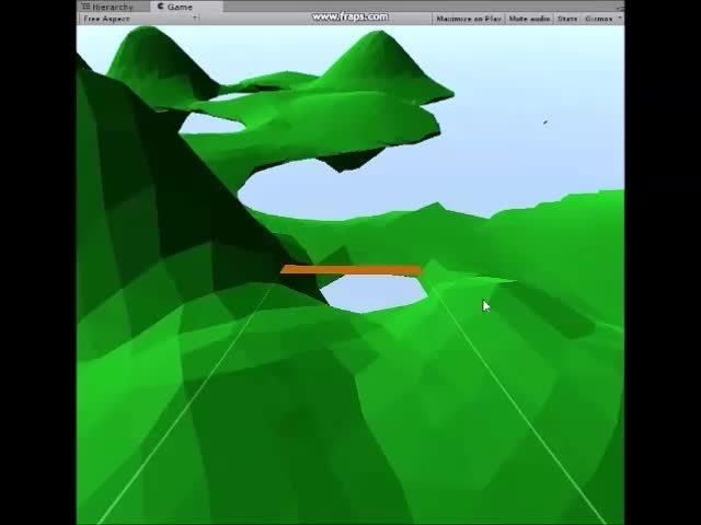 Unity3D, proceduralgeneration, Flight sim @koboldskeep GIFs