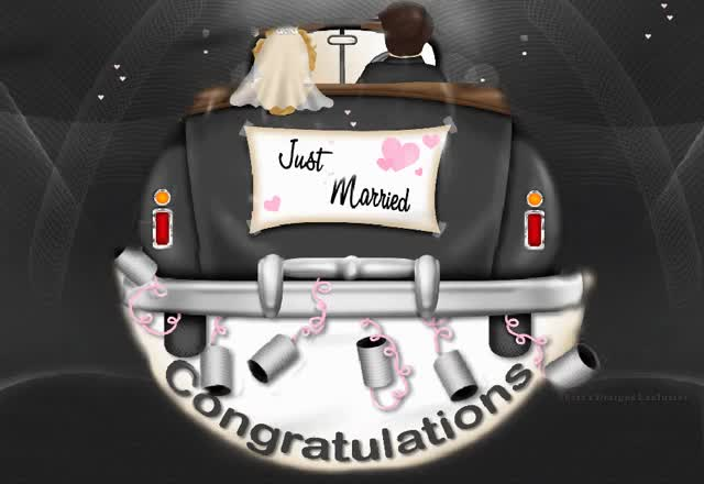 Watch and share Congratulations On Your Wedding Day GIFs on Gfycat