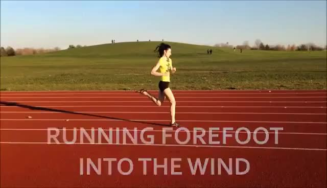 Watch and share Forefoot Running Tip - Running Into The Wind GIFs on Gfycat