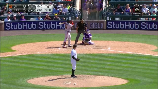 Watch and share Colorado Rockies GIFs and Baseball GIFs on Gfycat