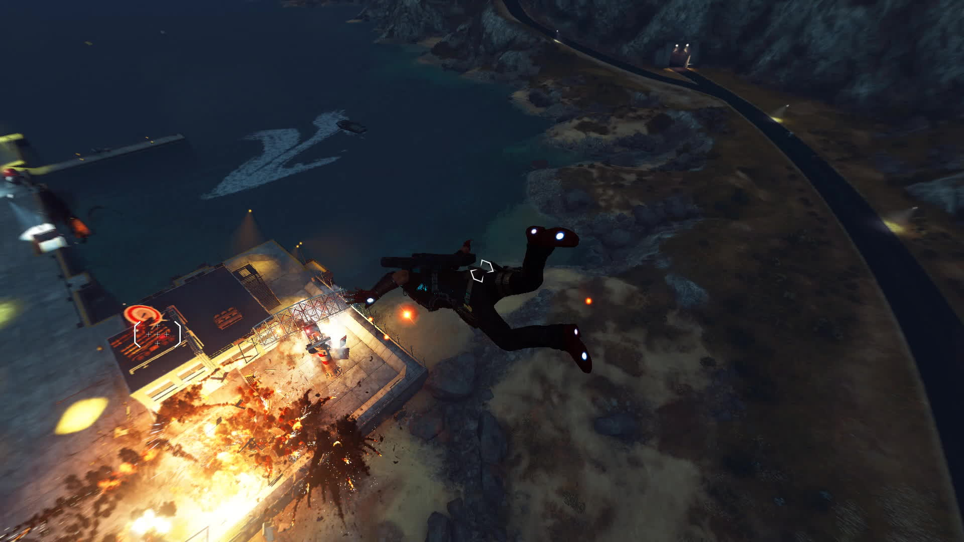 cause, explosion, just, [JC3] Slow-mo base assault GIFs