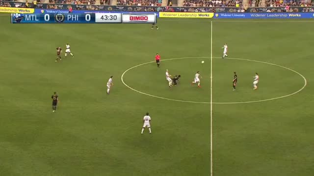 Watch and share Union Rookies Quickly Put MTL Under Threat GIFs by Evercombo on Gfycat