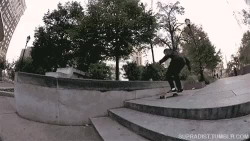 who else was hyped to see this ledge skated again?