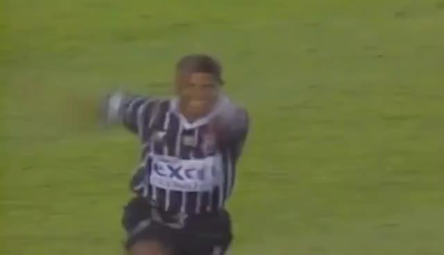 Watch and share Vasco 0 X 1 Corinthians - Gol De Falta De Marcelinho - Campeonato Brasileiro De 1998 GIFs on Gfycat