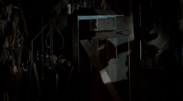 Evil Dead II light bulb blood splatter GIFs