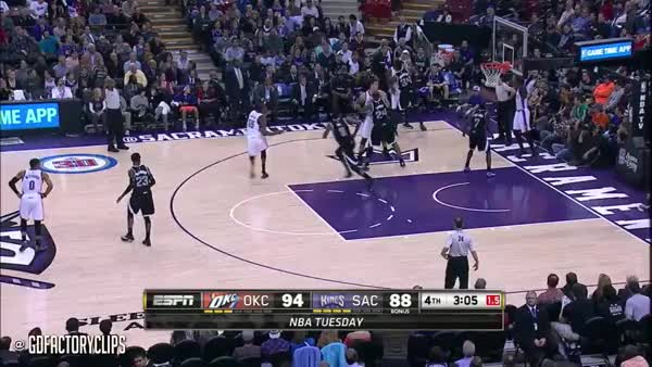 Watch and share Russell Westbrook With One Of The Most Vicious Dunks Ever, Against Sacramento (reddit) GIFs by nbaccount on Gfycat