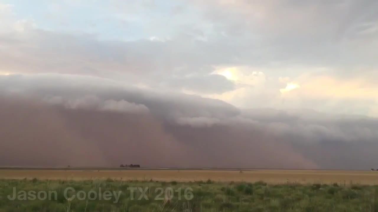 WeatherGifs, weathergifs, Haboob dust storm near Seminole, TX, May 29 2106 (reddit) GIFs
